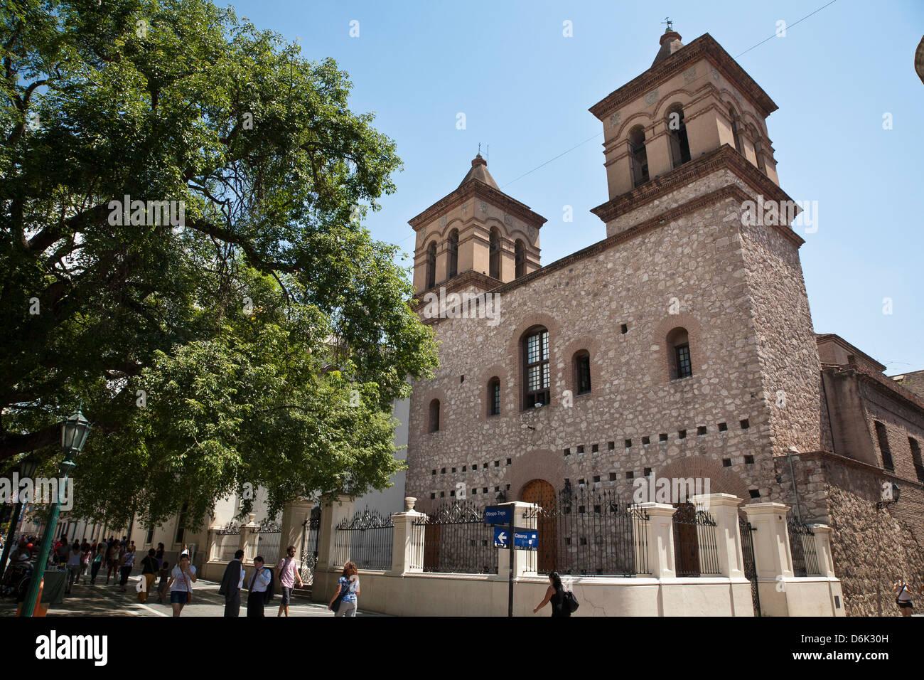 Iglesia Compania de Jesus, partie de la Manzana Jesuitica, Site du patrimoine mondial de l'UNESCO, la ville Photo Stock