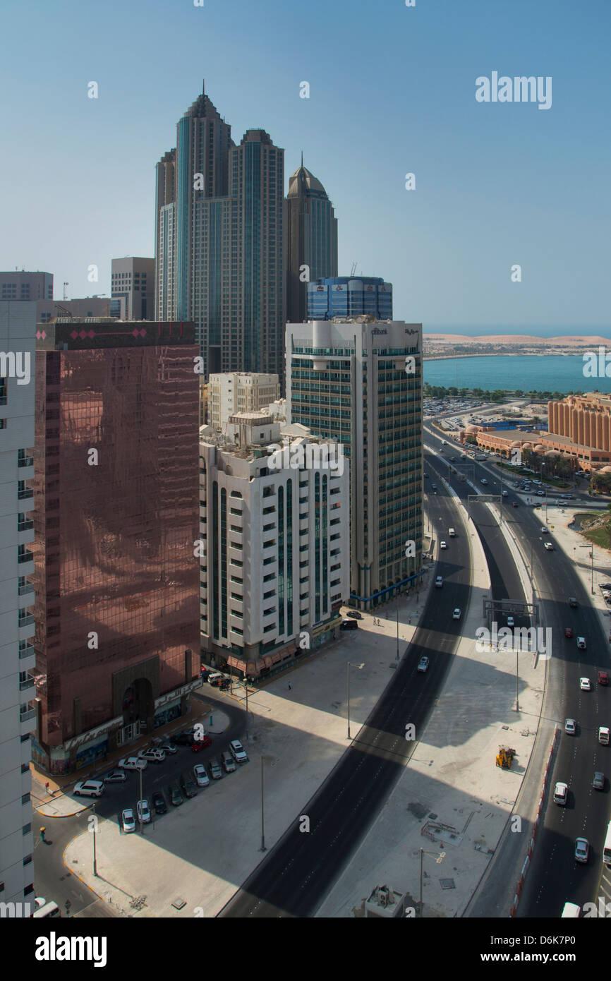 Abu Dhabi, Emirats Arabes Unis, Moyen Orient Photo Stock