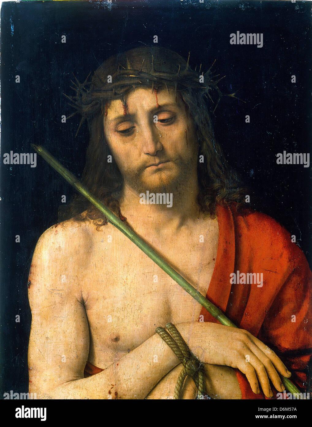 Andrea Solari, l'Ecce Homo 1505-1506 Huile sur panneau. Museo Poldi Pezzoli, Milan, Italie Banque D'Images