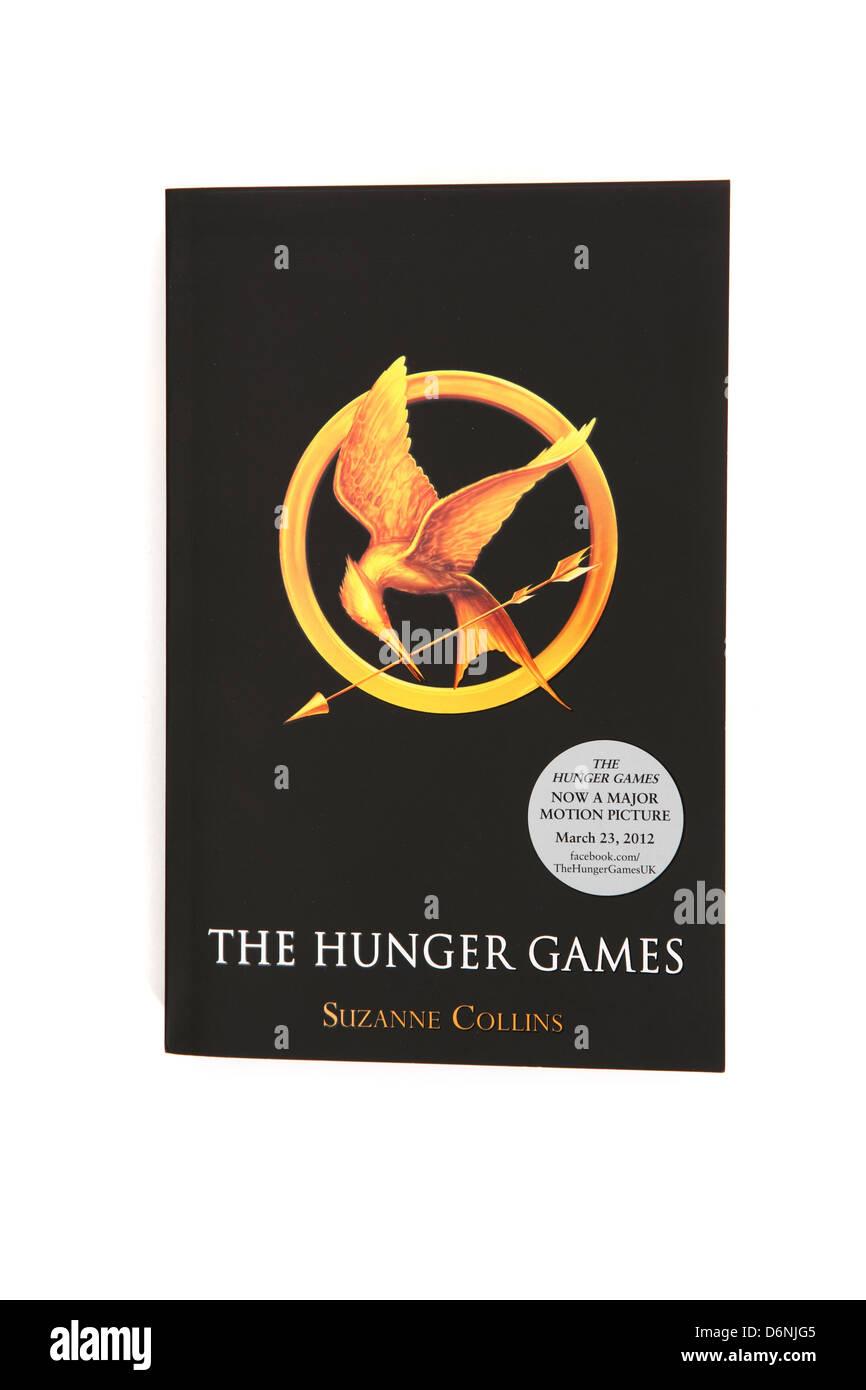 Le roman Hunger Games écrit par Suzanne Collins. Photo Stock