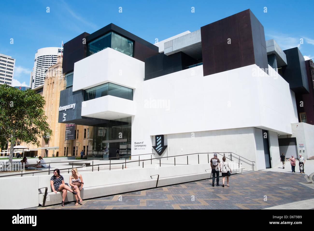 Musée d'Art Contemporain de Sydney, Australie Photo Stock