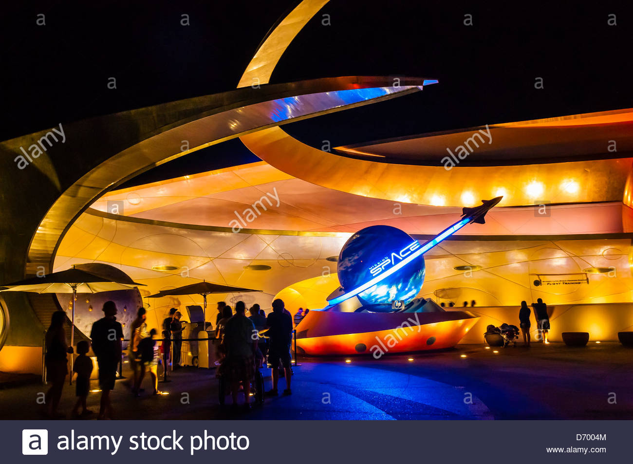 Mission:Espace, Epcot, Walt Disney World, Orlando, Floride, USA Photo Stock