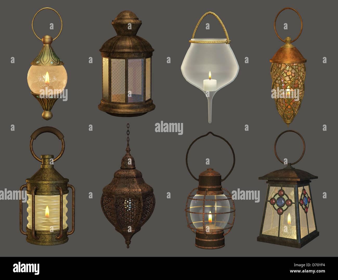 datant Dietz lanternes