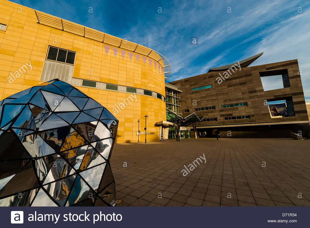 (Musée Te Papa de Nouvelle-Zélande), Welliington, Nouvelle-Zélande Photo Stock