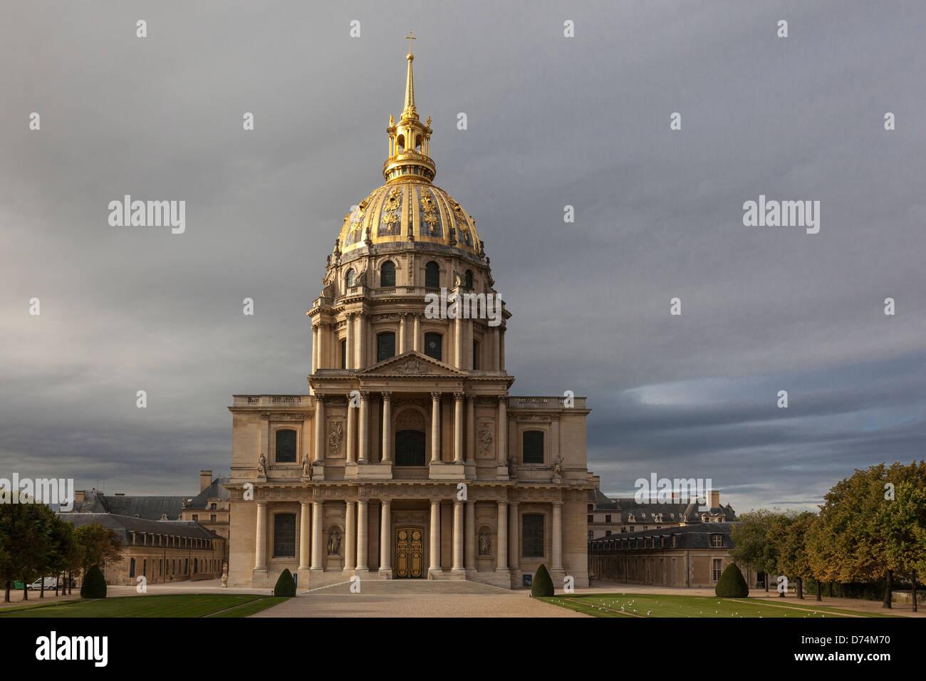 Paris, Hôtel des Invalides, le tombeau de Napoléon Banque D'Images