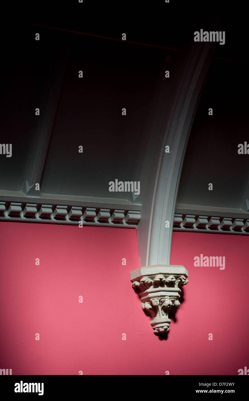 Plâtre,arch, arqués, architecture, art, artistique, la beauté, Banque D'Images