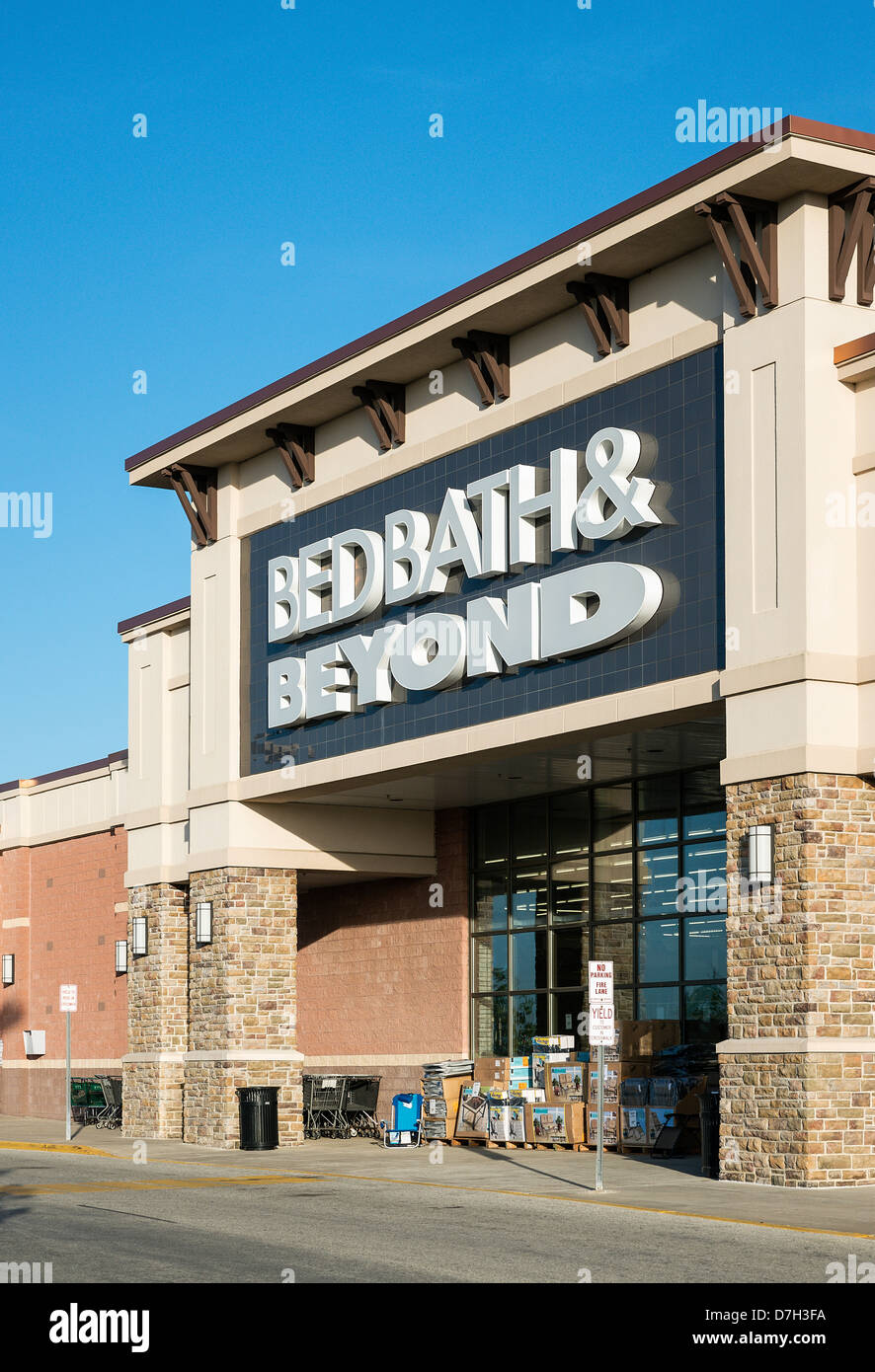 Bed, Bath and Beyond, magasin Photo Stock