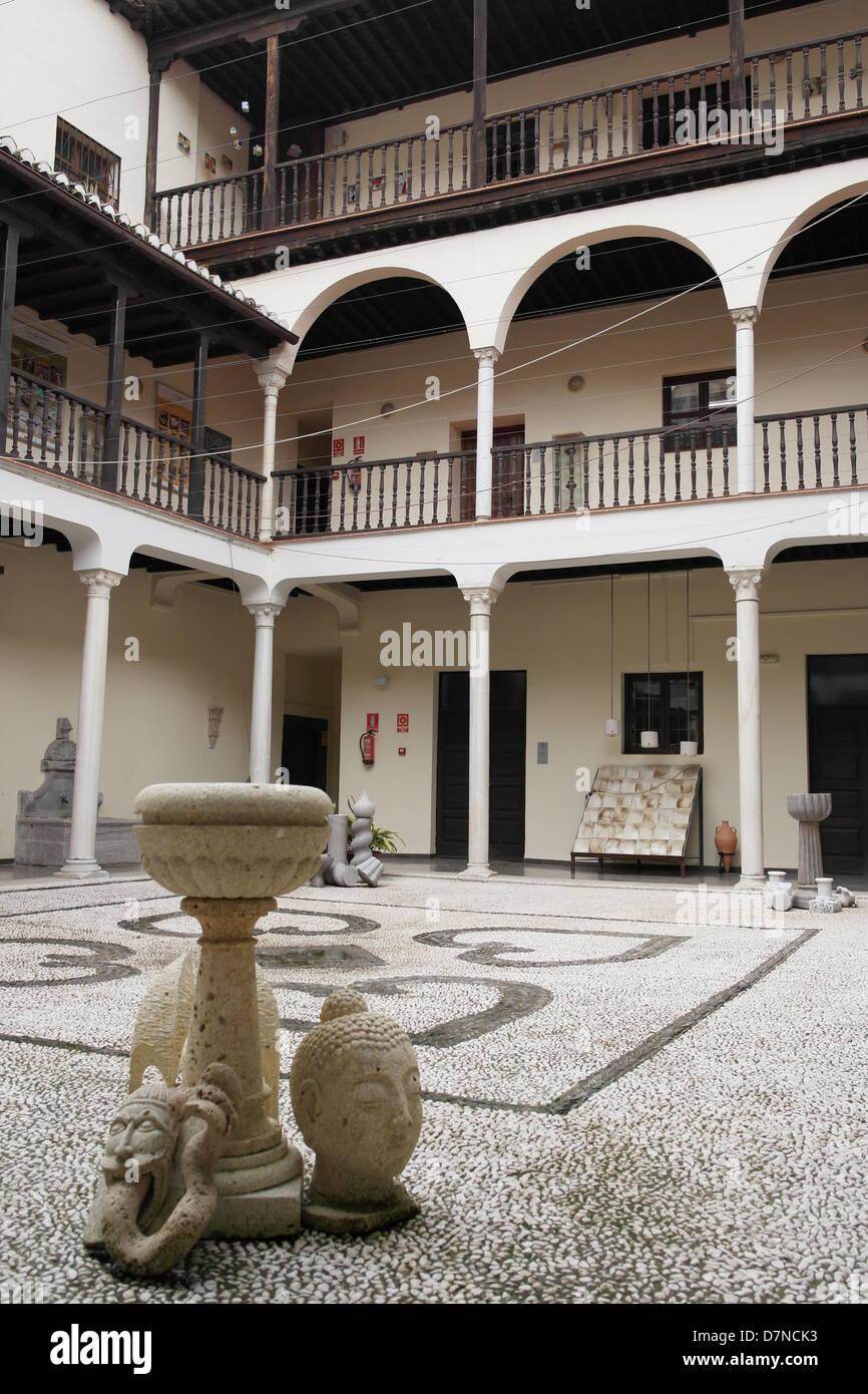 Centro Albayzin - Centro de Formacion en artesania, restauracion, e rehabilitacion historico, artistico y cultural Banque D'Images