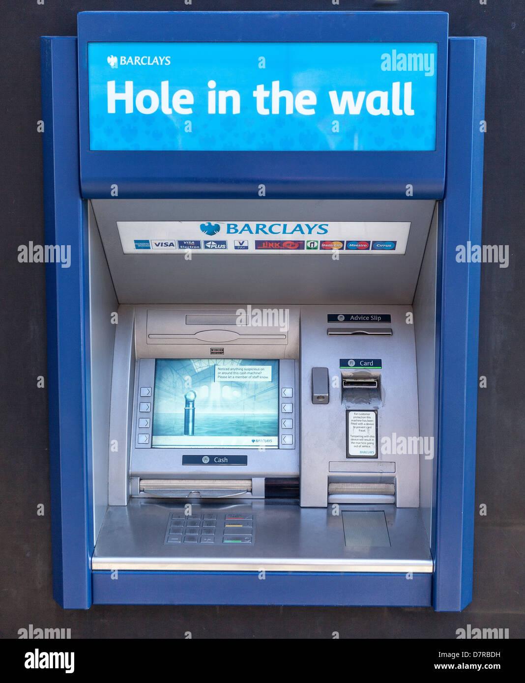Distributeur de billets ATM Machine Banque D'Images