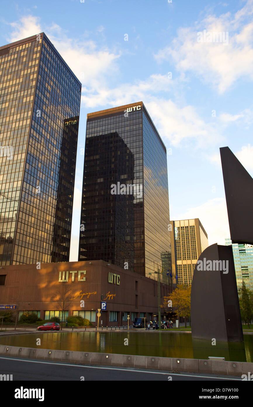 World Trade Center, Bruxelles, Belgique Photo Stock