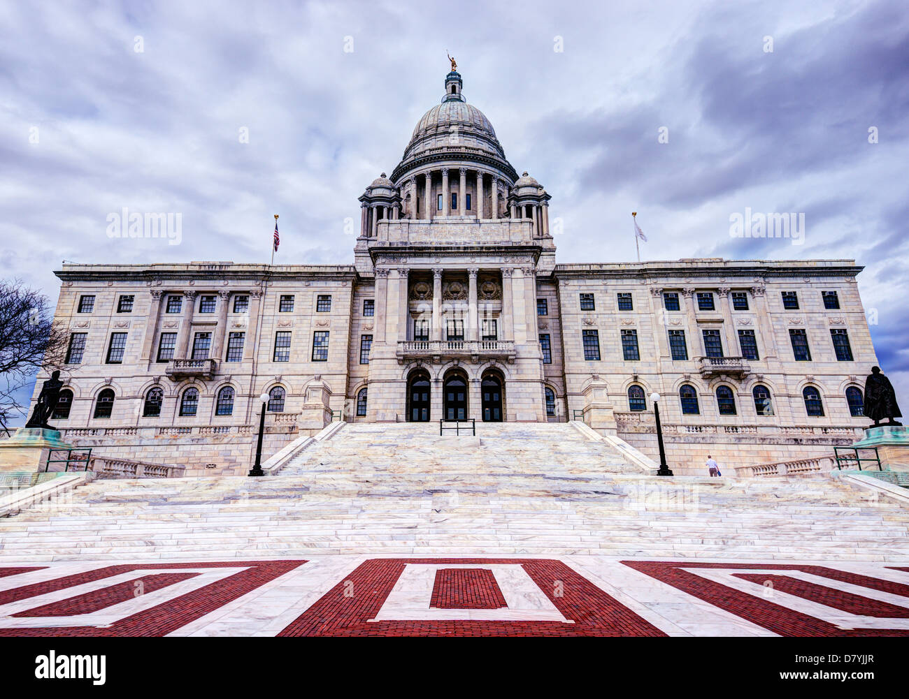Rhode Island State House à Providence, Rhode Island. Banque D'Images