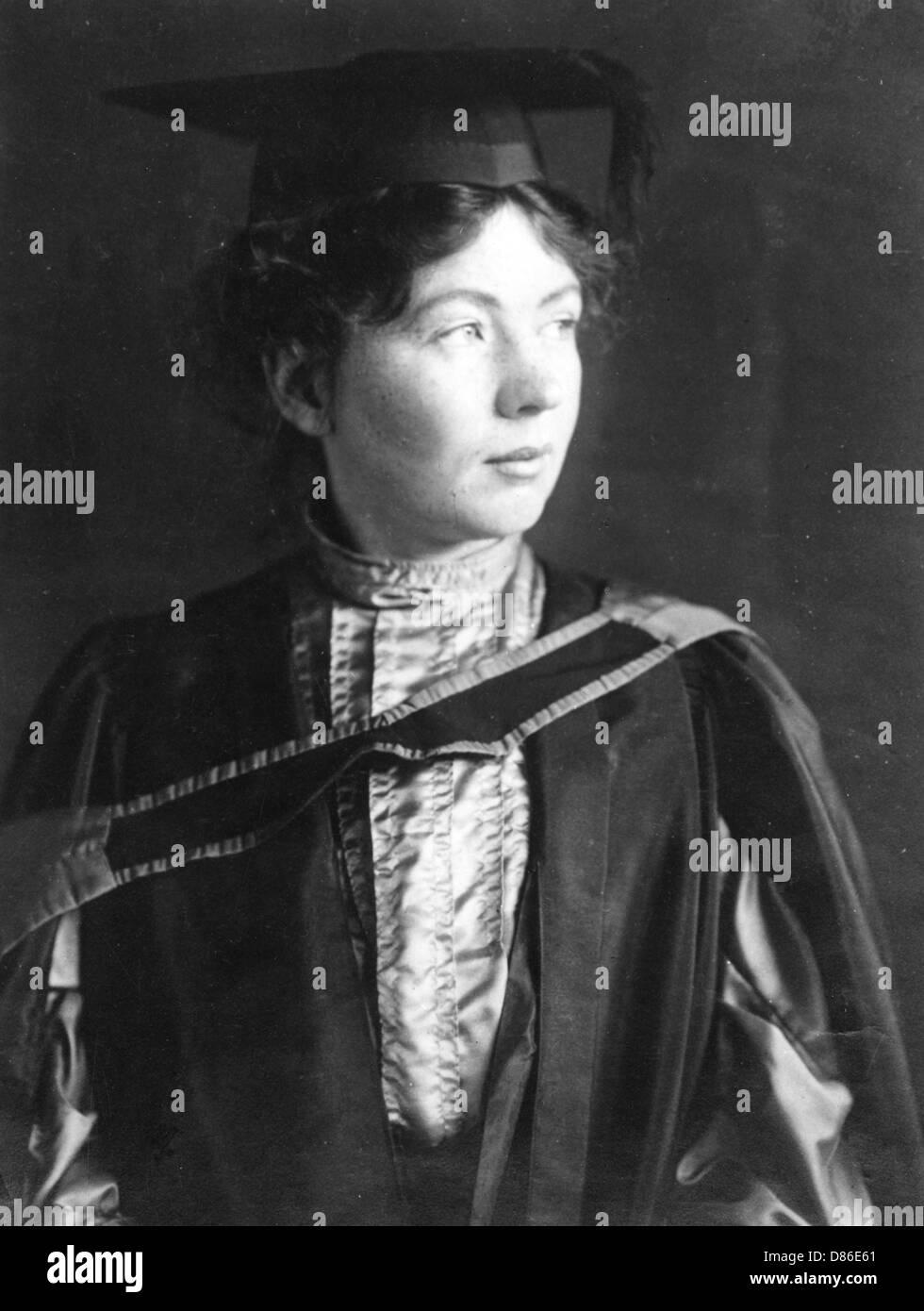 Sylvain Pankhurst Banque D'Images