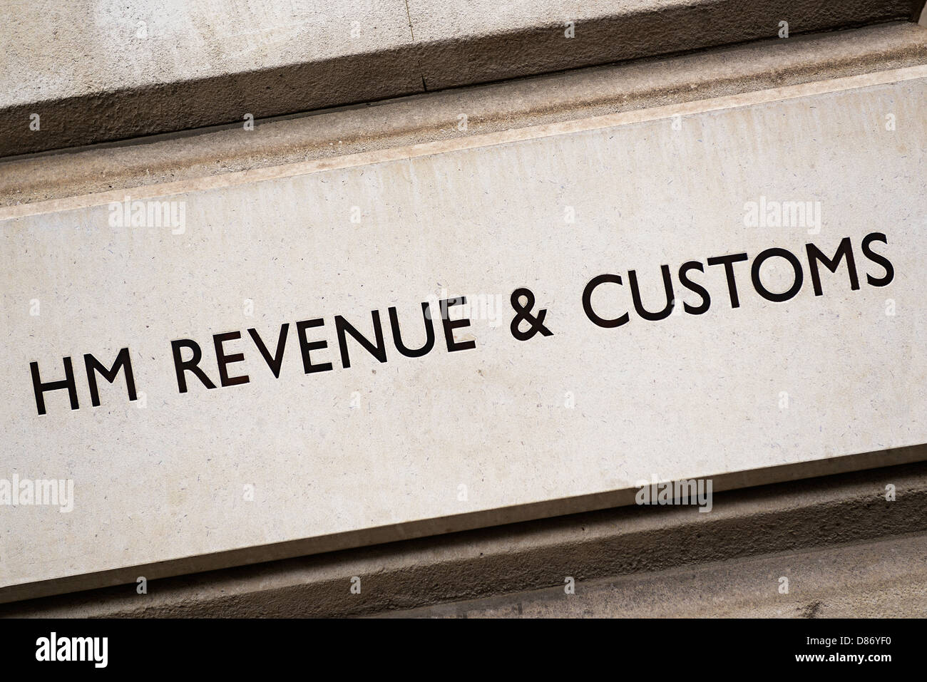 HM Revenue and Customs, Westminster, London, England, UK. Photo Stock