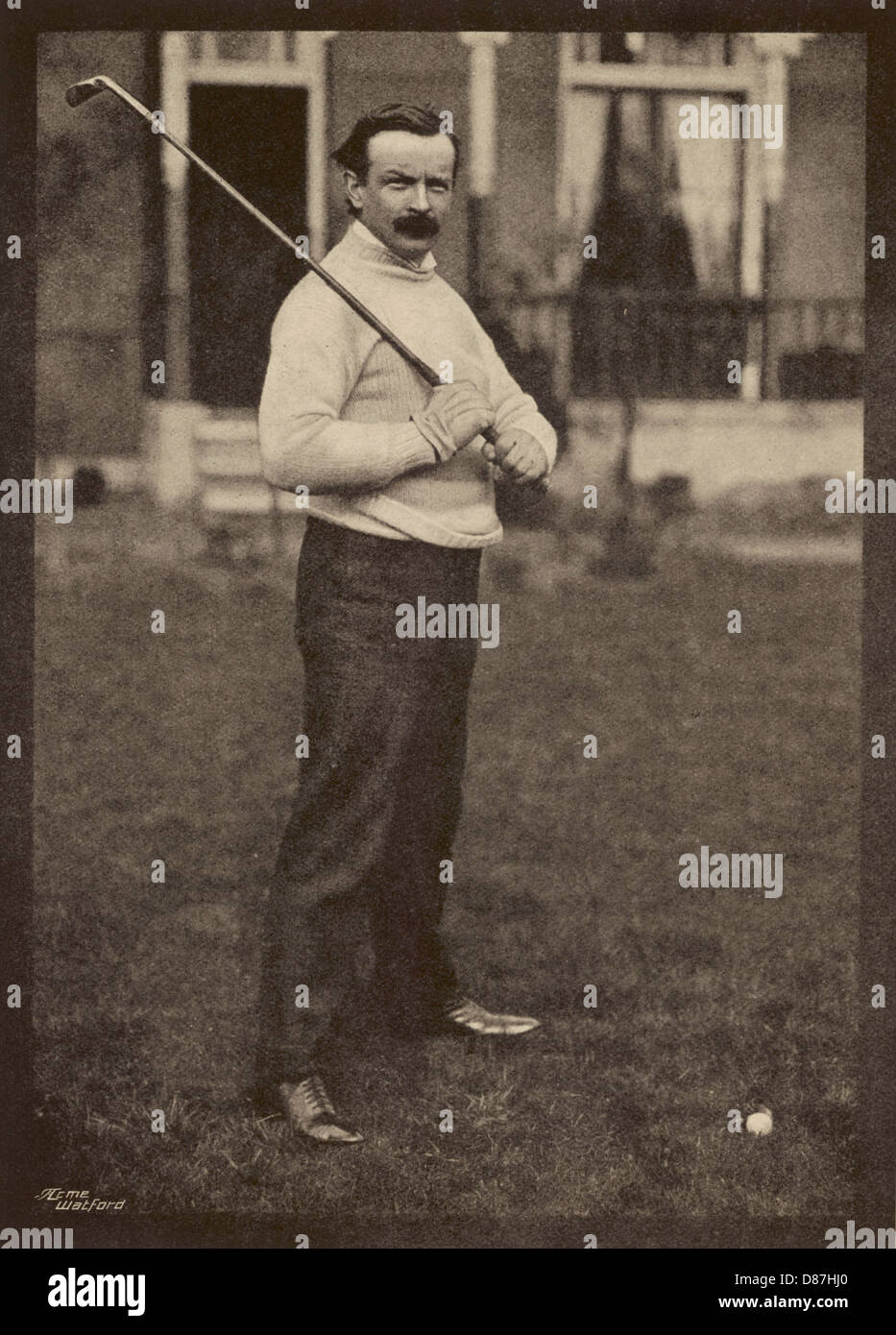 Lloyd George Golf Photo Stock
