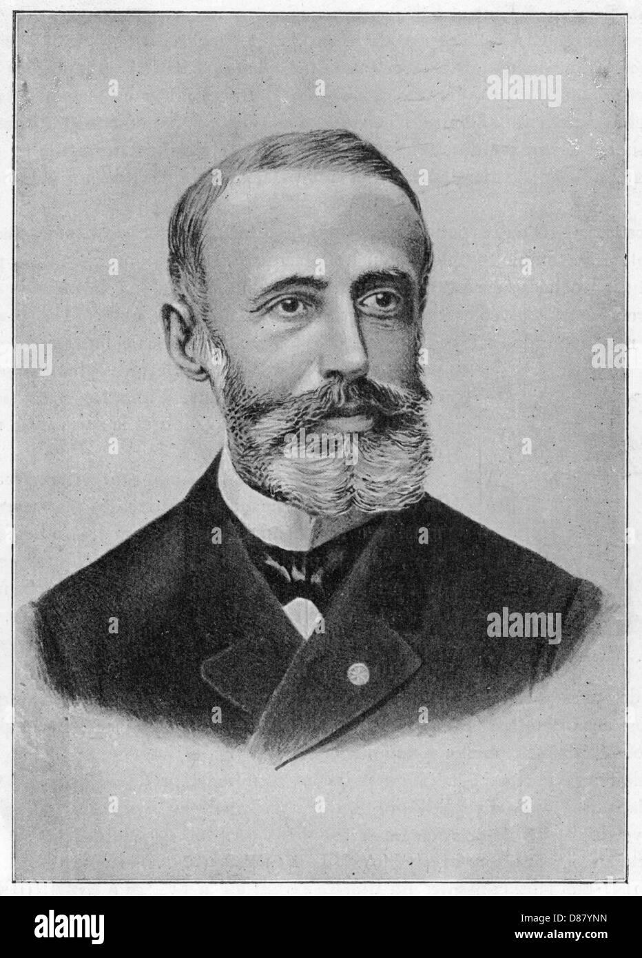Gaston Plante Photo Stock