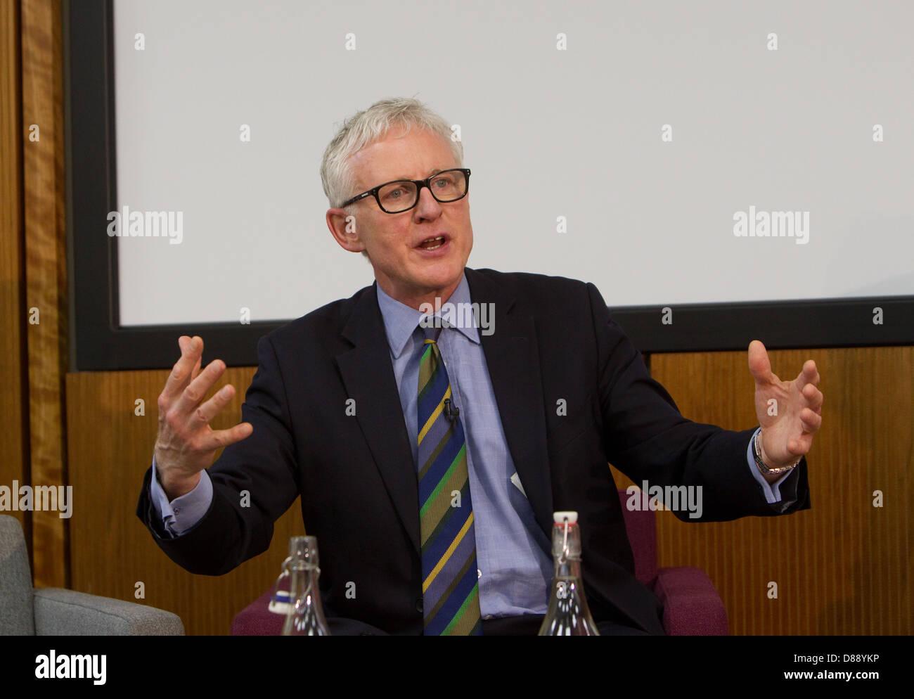 Norman Lamb,Libdem MP North Norfolk, Ministre d'état pour les soins et le soutien au King's Fund à Photo Stock