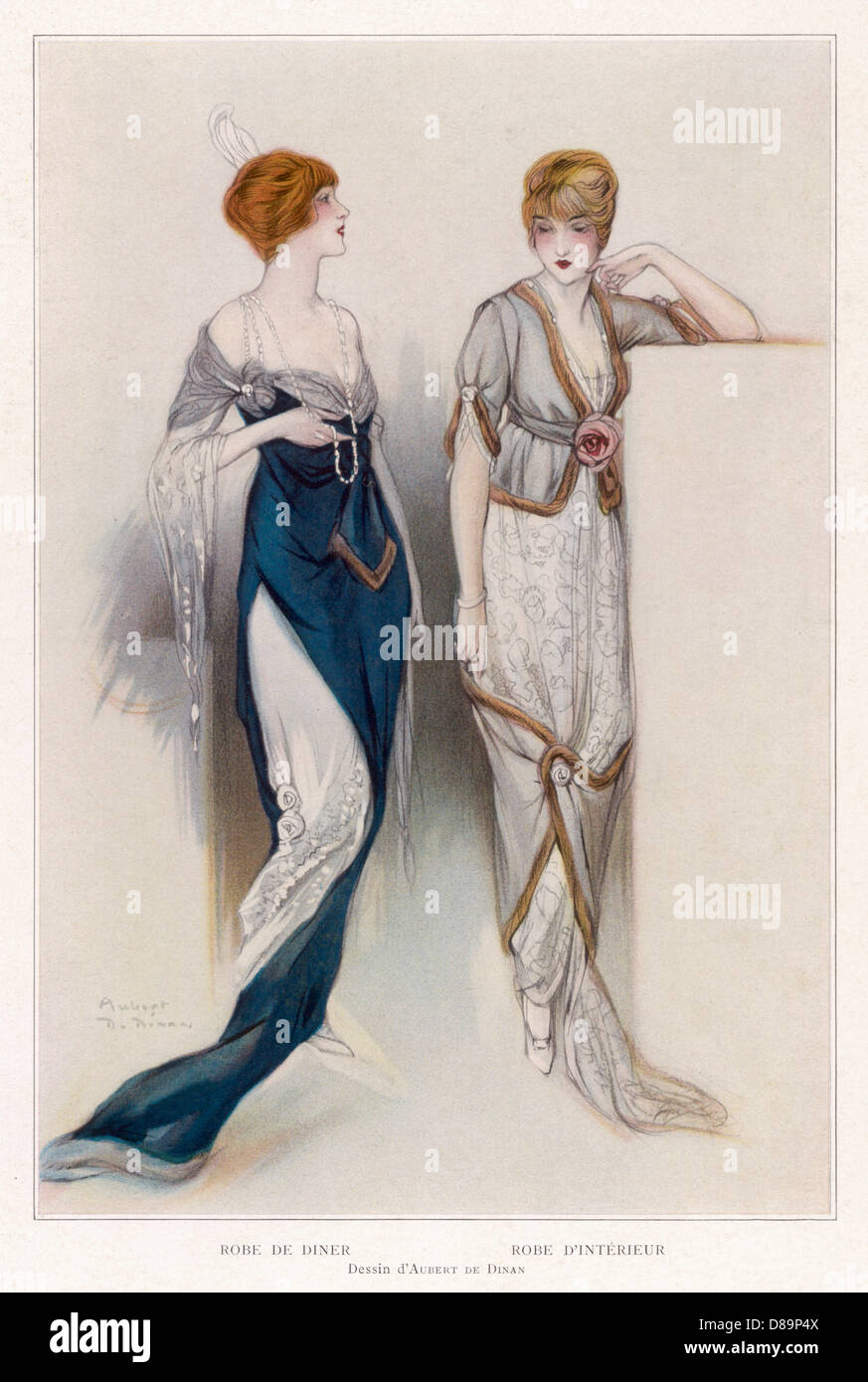 Les Modes 1913 Photo Stock