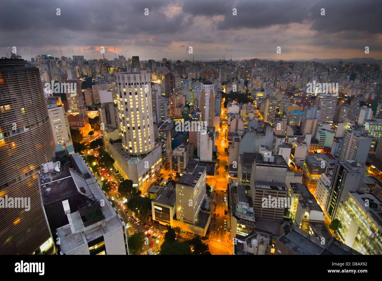 Brésil, Sao Paulo, de l'Italie des capacités Photo Stock