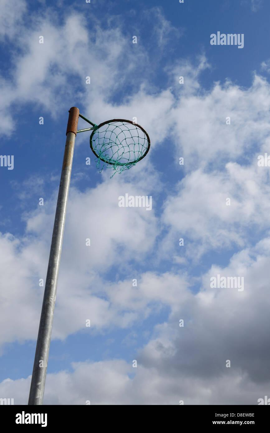 Cerceau de netball Photo Stock