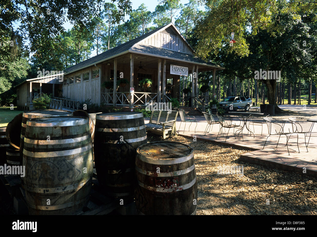 Elk283-4298 Louisiane, Avery Island, Tabasco Country Store Banque D'Images