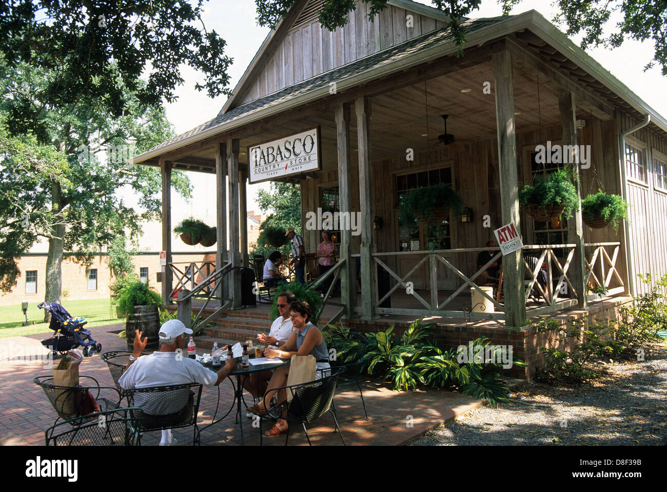 Elk283-4306 Louisiane, Avery Island, Tabasco Country Store Banque D'Images