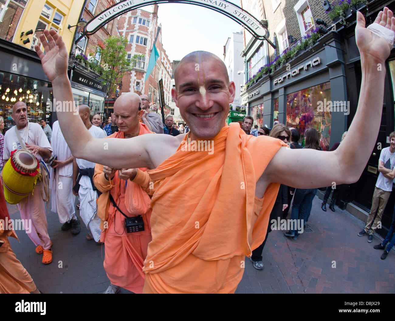 Hare Krishna London UK Banque D'Images