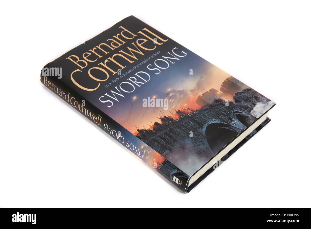 Le roman - épée chanson de Bernard Cornwell Photo Stock
