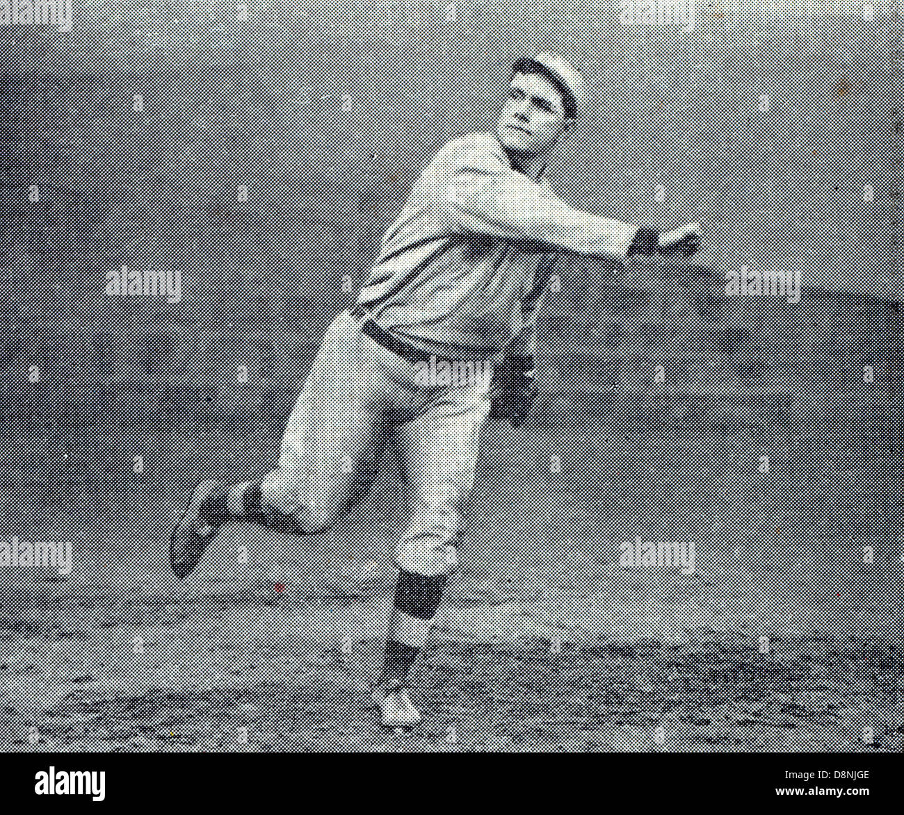 Russell Ford, joueur de baseball Photo Stock