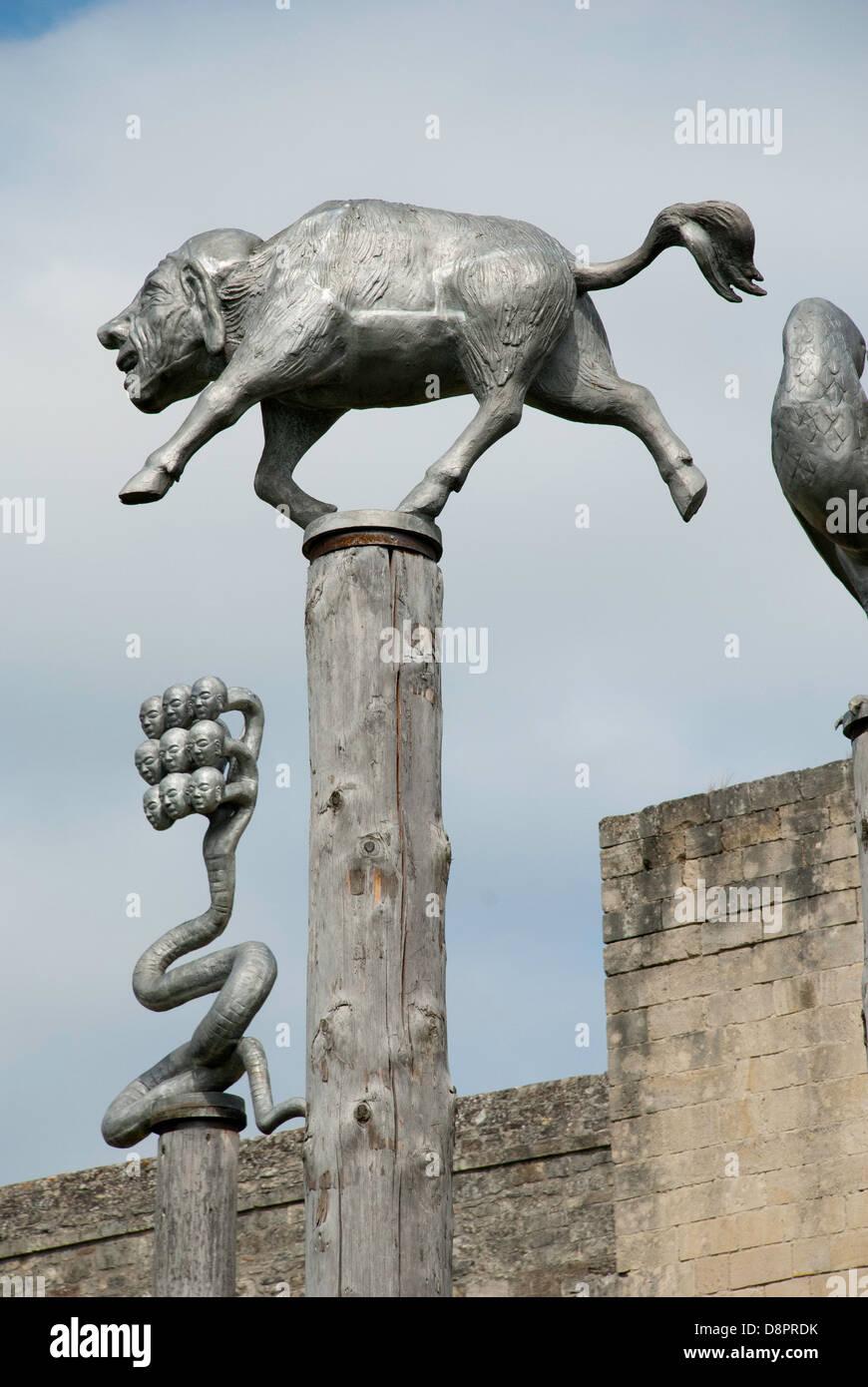 Où suis-je Martine 3/06 - Bravo Ajonc Sculpture-dans-le-parc-du-musee-des-beaux-arts-de-caen-caen-normandie-france-d8prdk