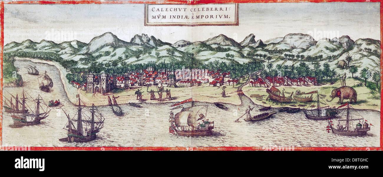 CALCUTTA (Inde), en 1572 Photo Stock