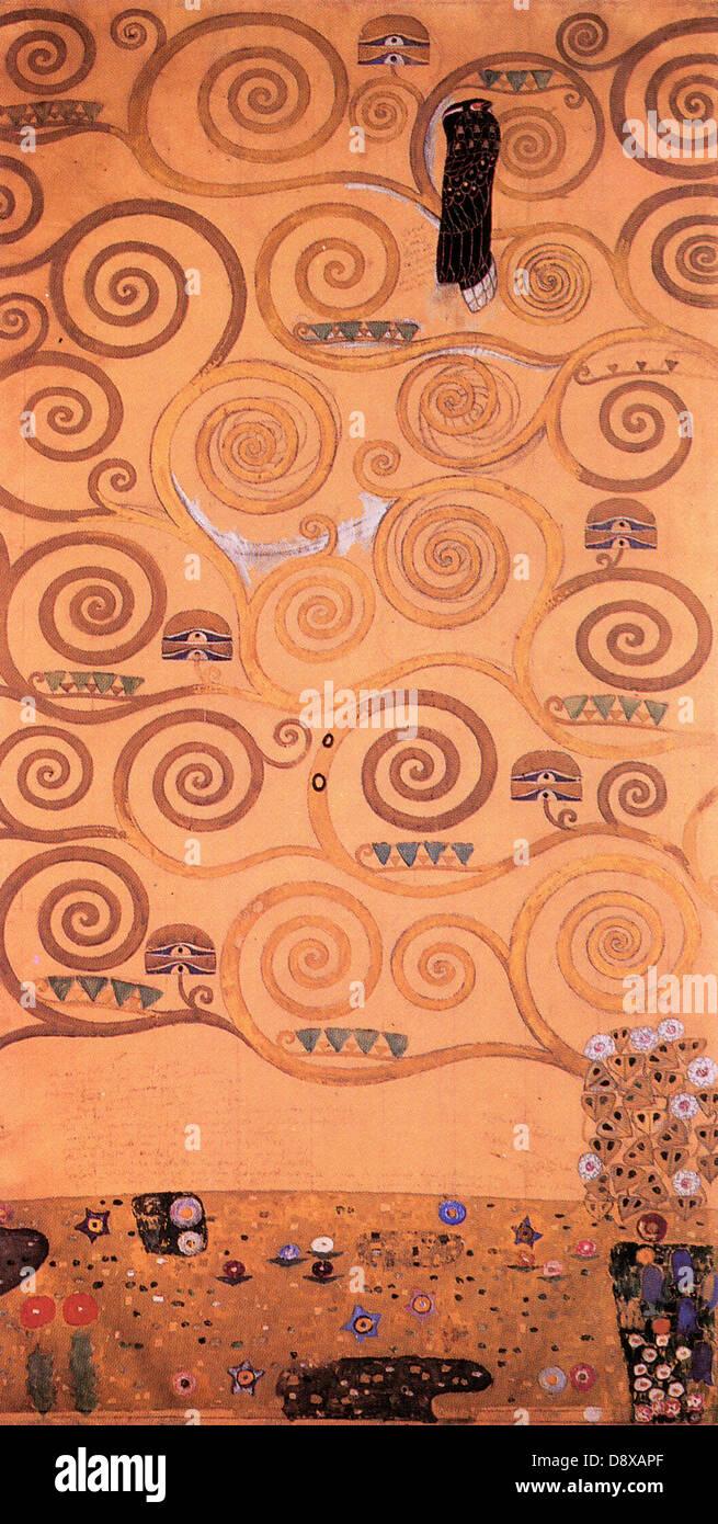Klimt L Arbre De Vie Tableau arbre de vie' peinture de gustav klimt (1905) - un usage