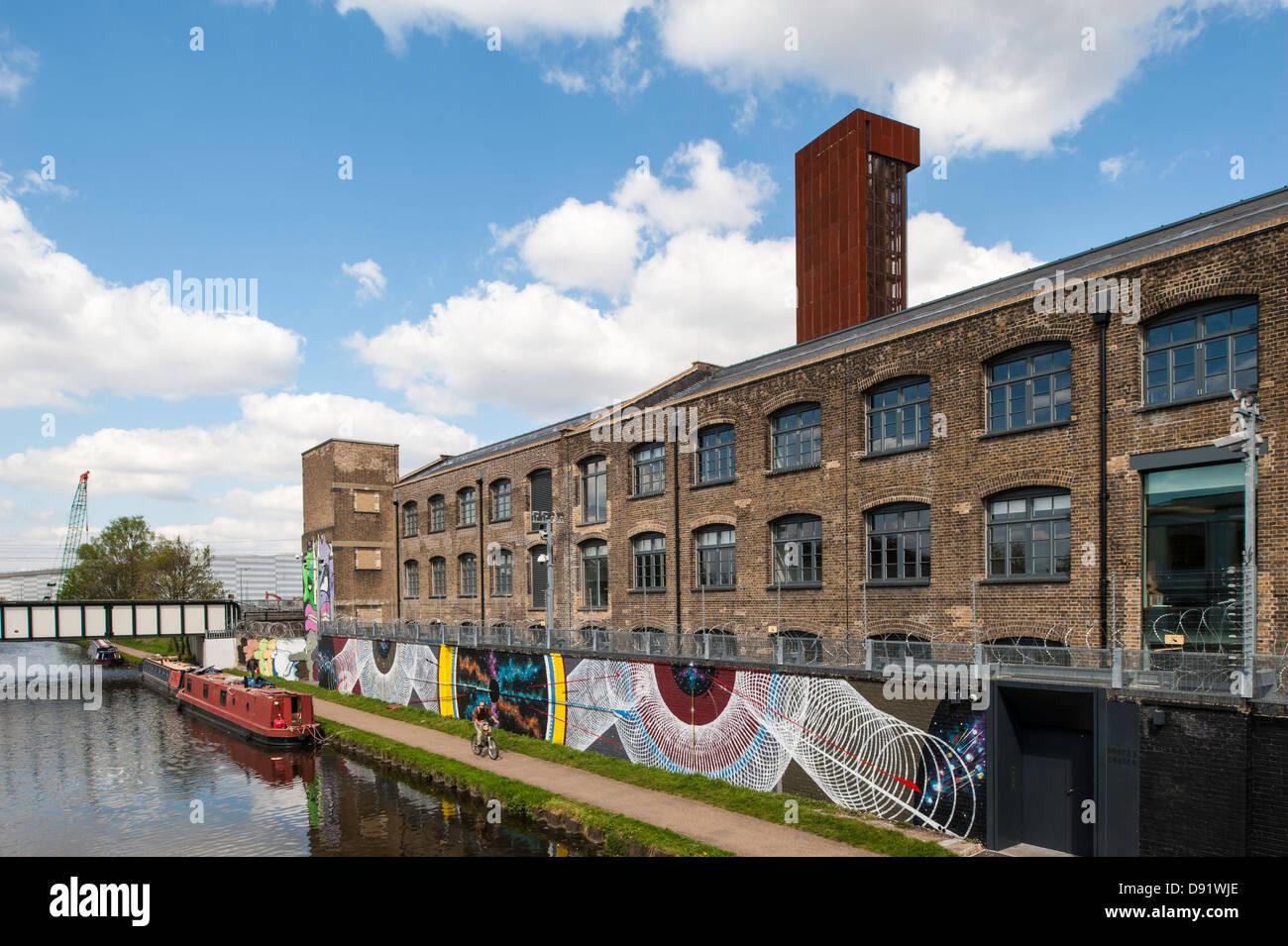 D'Hackney Wick, E9, Londres, Royaume-Uni Photo Stock