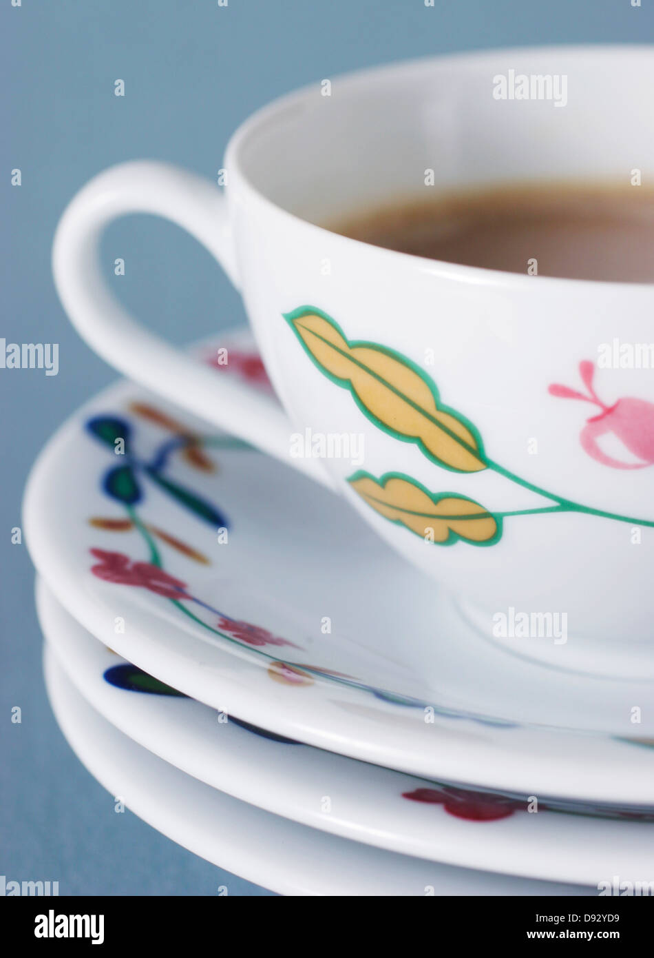 Studio shot of Coffee cup Photo Stock