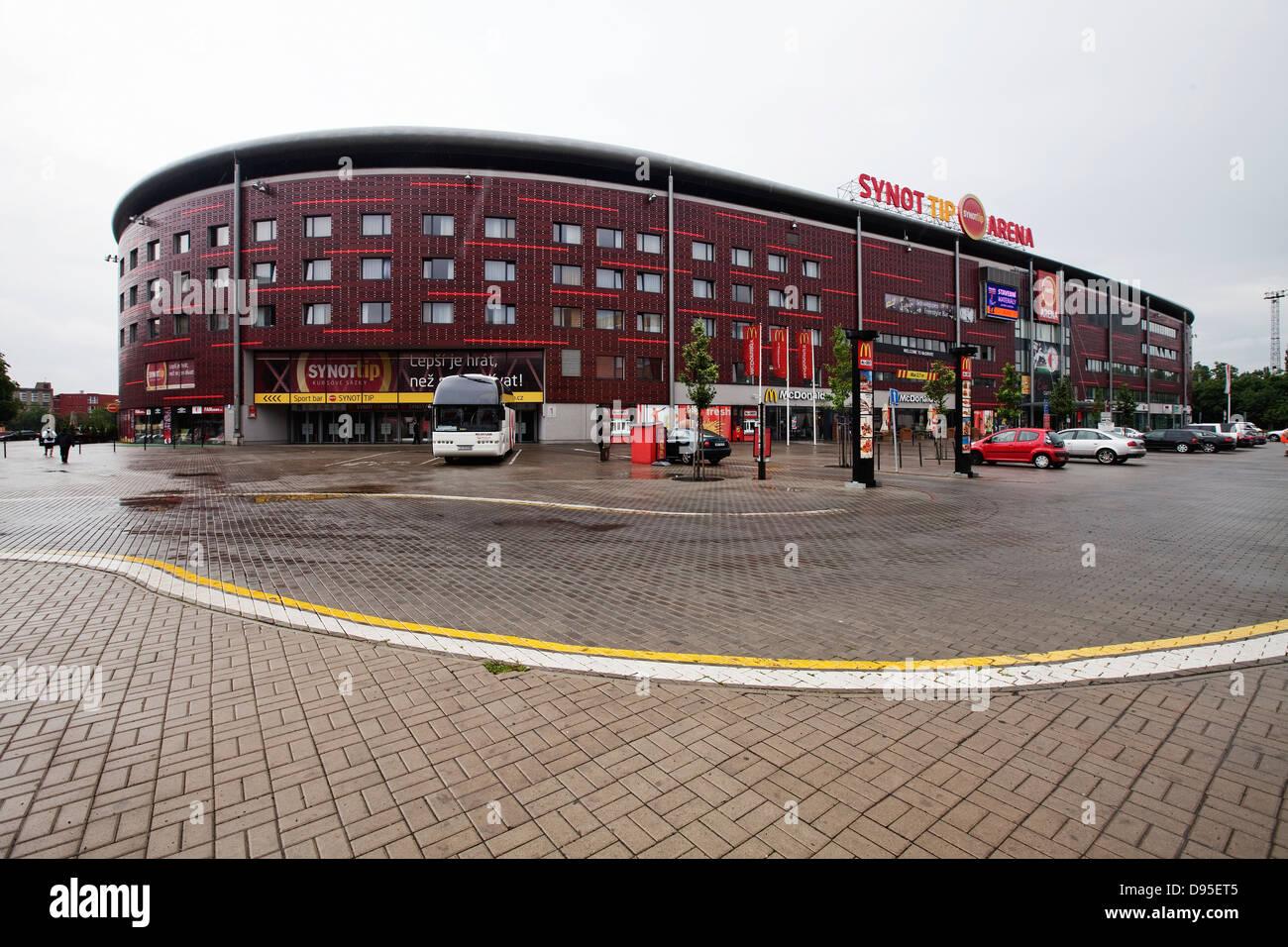 Sk Slavia Image: Stade Eden Arena, Pointe Synot, SK Slavia Prague Banque D