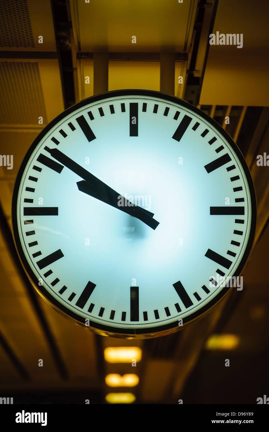 Horloge de la ville Photo Stock