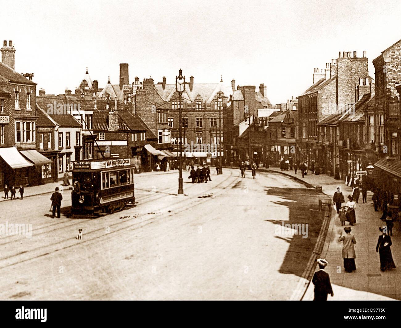 Bond Darlington Gate début des années 1900 Photo Stock