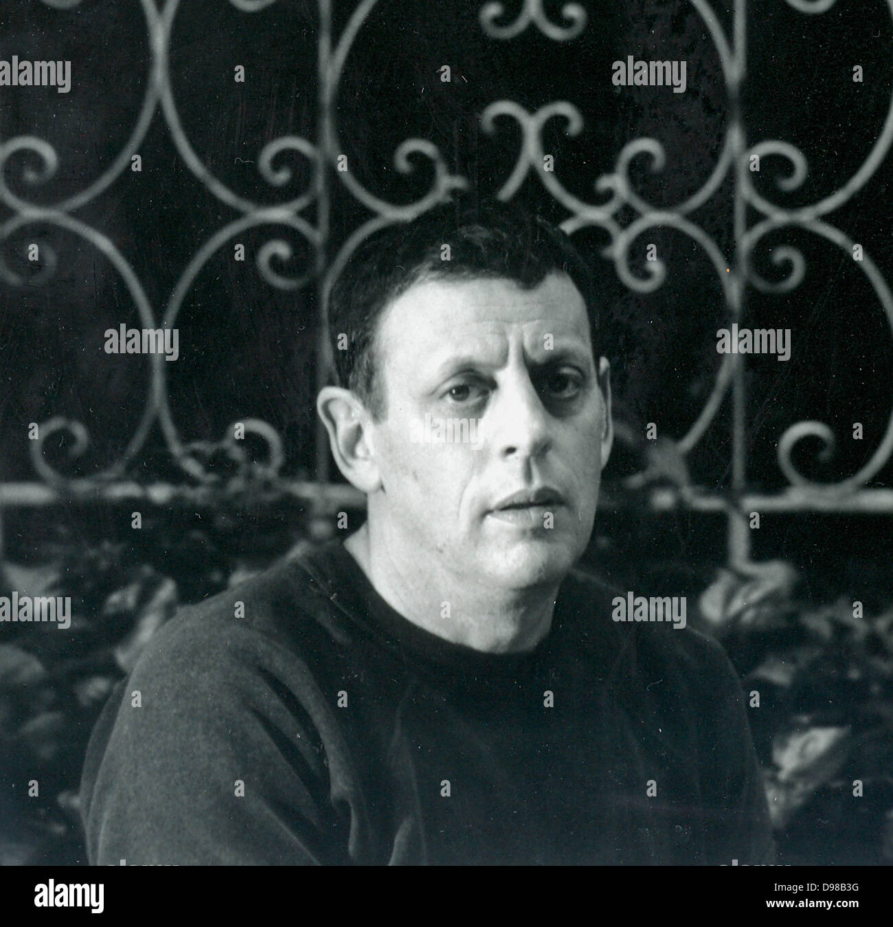 Philip Glass (né en 1937) en 1989. Compositeur américain. Photo Stock
