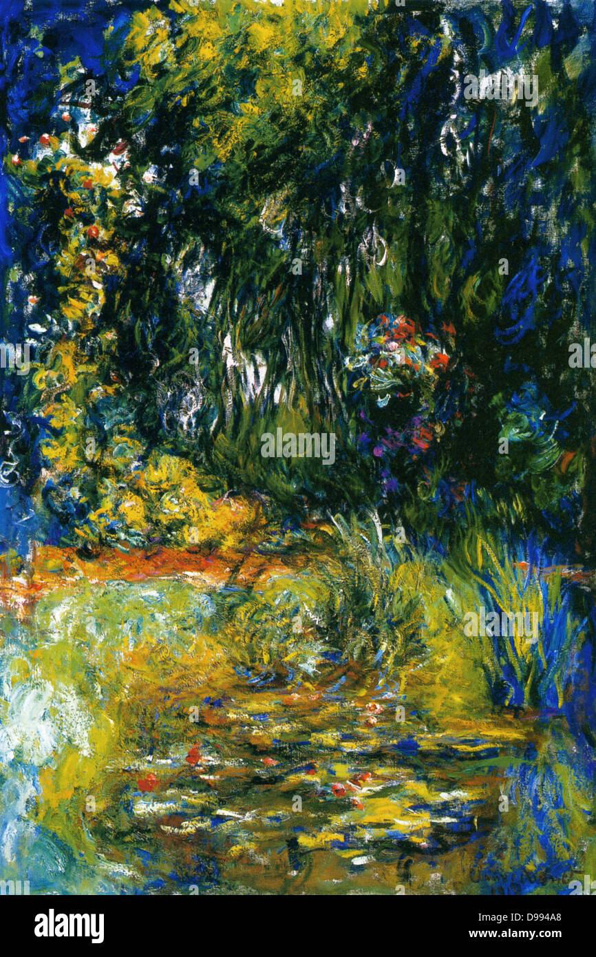 Claude Monet 14 Novembre 1840 5 Decembre 1926 Peintre Impressionniste Francais Le Terme Impressionnisme Est Derive De L Intitule De Son Tableau Impression Sunrise Impression Soleil Levant Coin Du Bassin Aux Nympheas