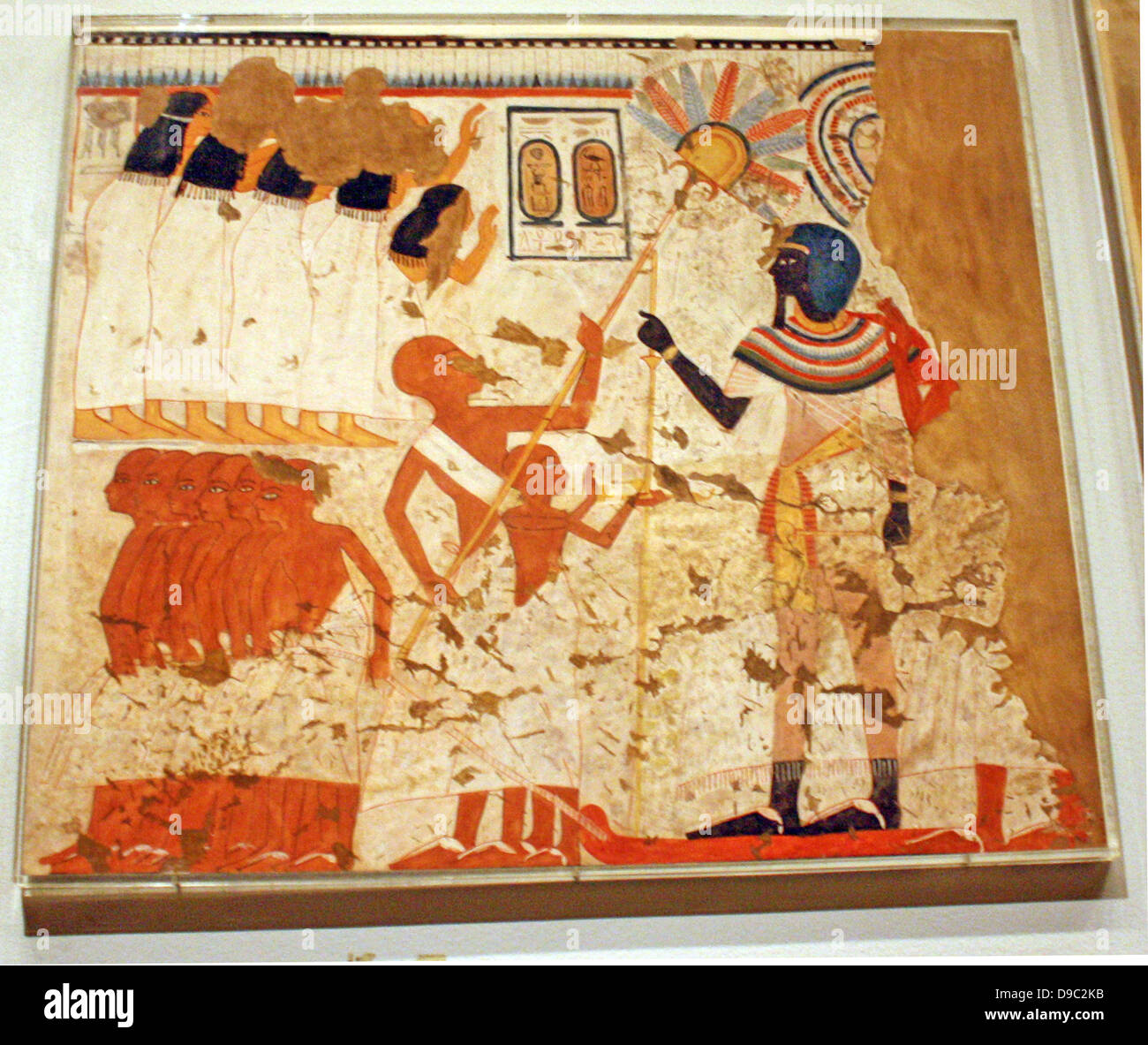 Peintures Murales De L égyptien à Partir Du Nouvel Empire L