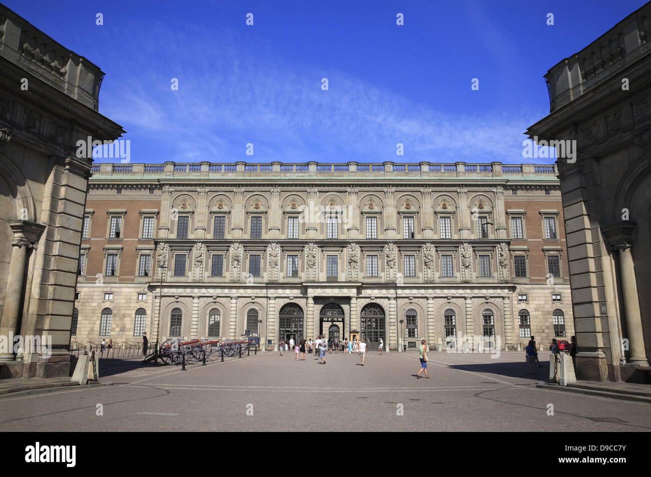 Gamla Stan, palais royal de Stockholm, Suède, Scandinavie Banque D'Images