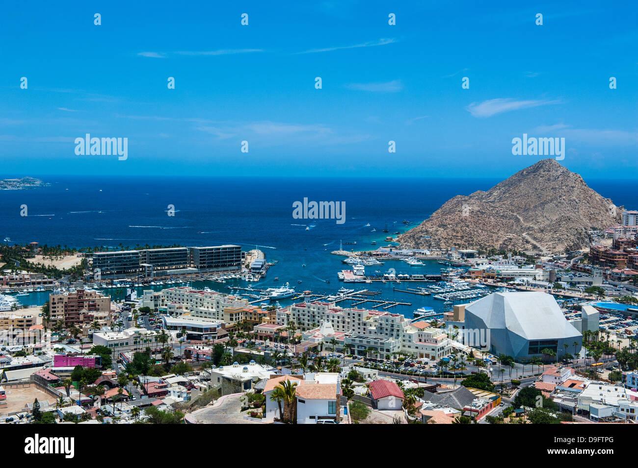 Vue sur Los Cabos, Baja California, Mexique Photo Stock