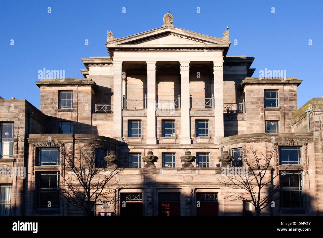 Les plus jeunes Hall, Université de St Andrews, Fife, Scotland, UK Photo Stock