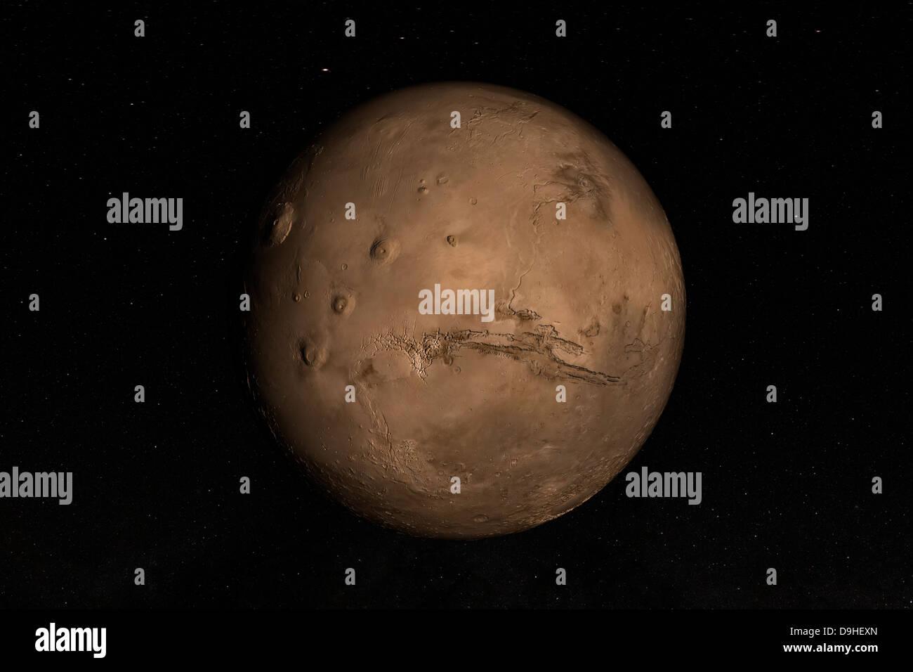 Planète Mars Photo Stock