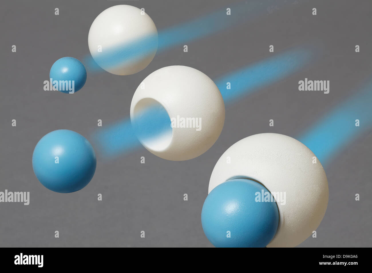 Donner de la masse des particules bosons de Higgs Photo Stock