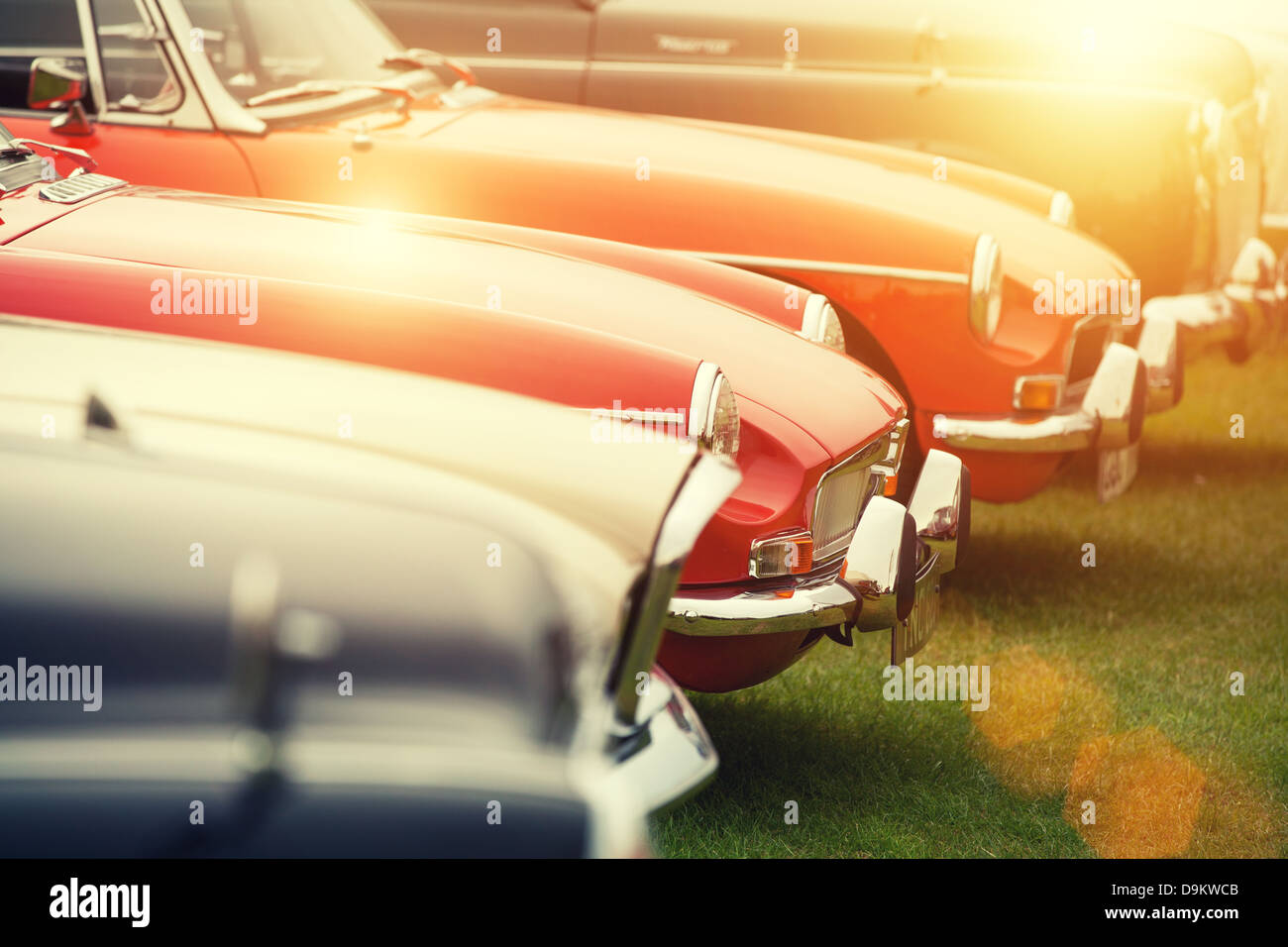 Sunshine classic cars Photo Stock