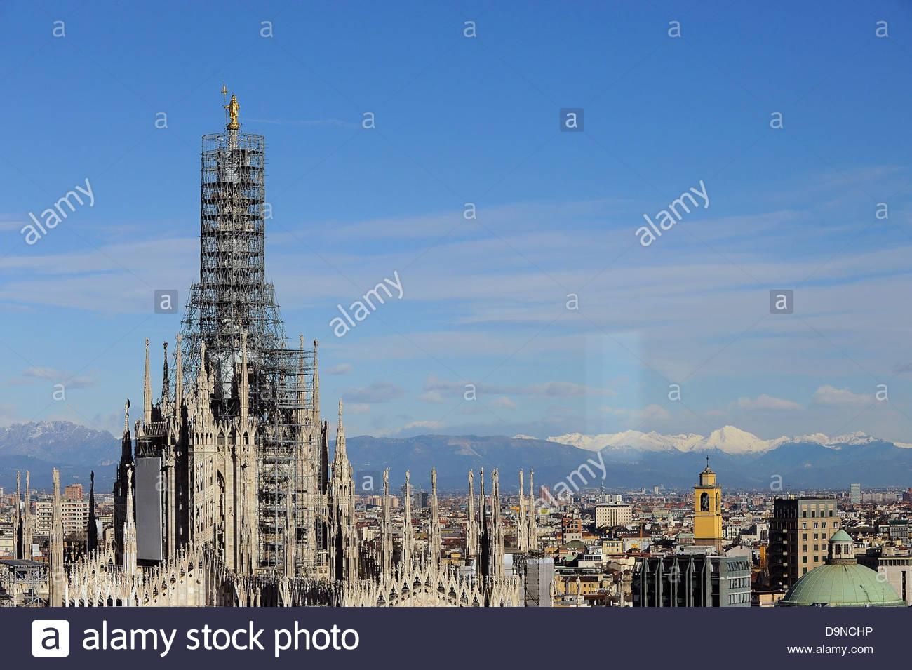 Duomo, milan, Lombardie, Italie Photo Stock