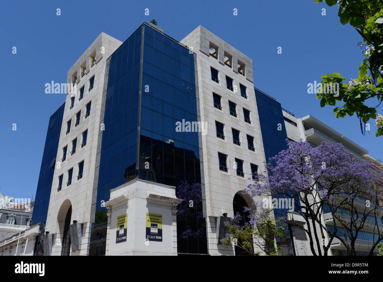 La banque Banco Investir Lisbonne Portugal Photo Stock
