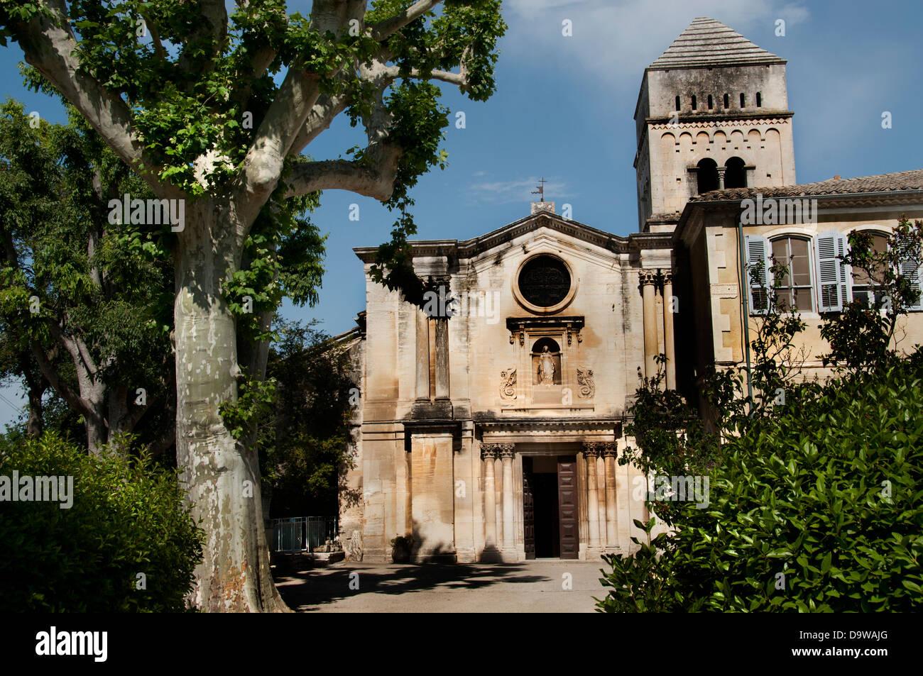 Monastère Saint Paul de Mausole Saint Rémy de Provence France Vincent van Gogh 1853-1890 Pays-Bas Néerlandais Photo Stock