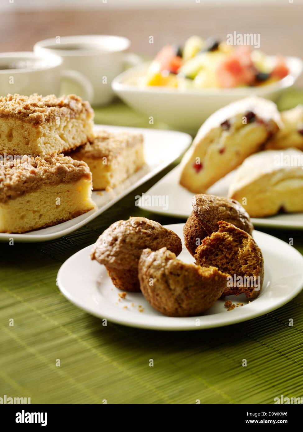 pâtisseries Photo Stock