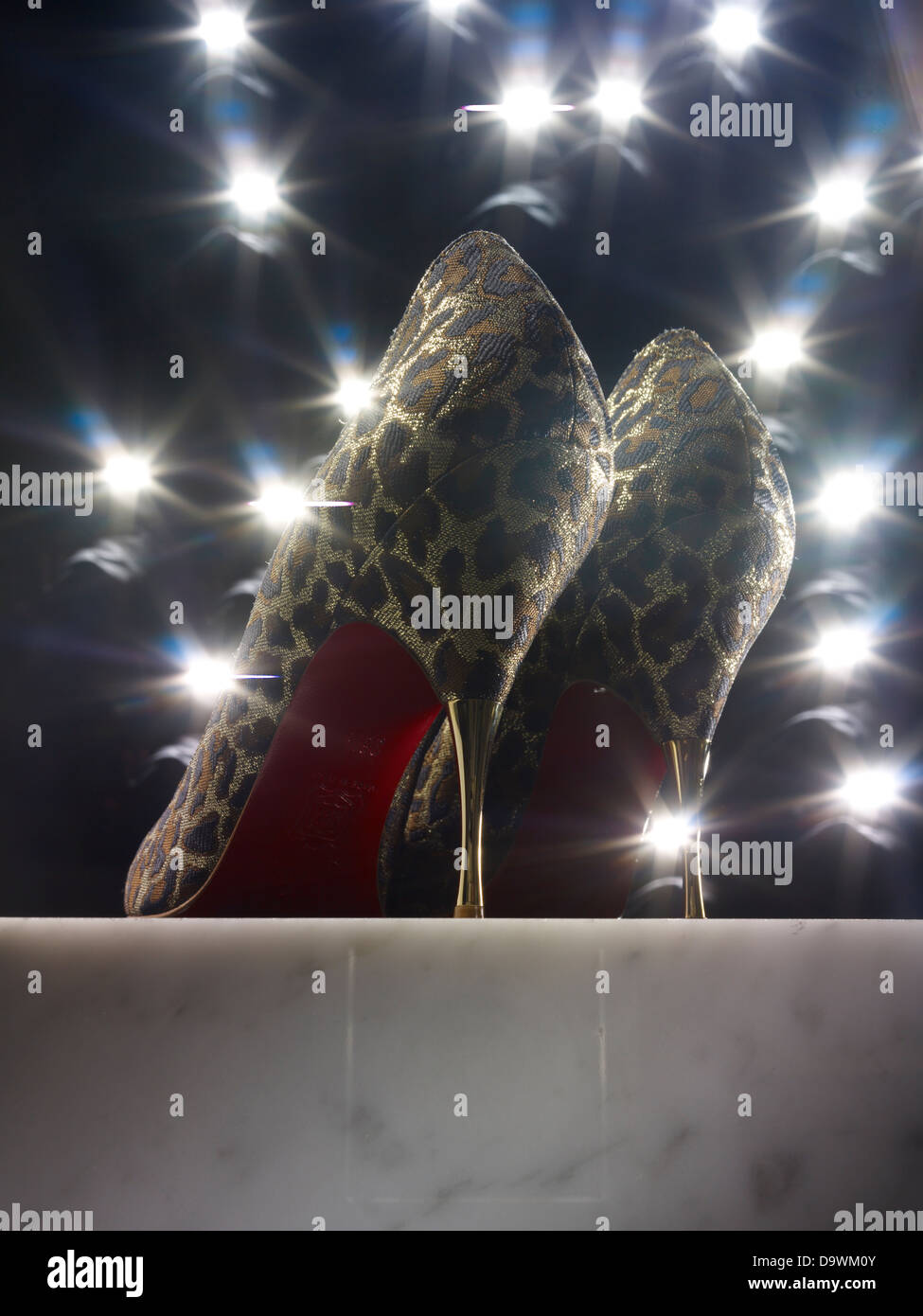 les talons hauts Photo Stock